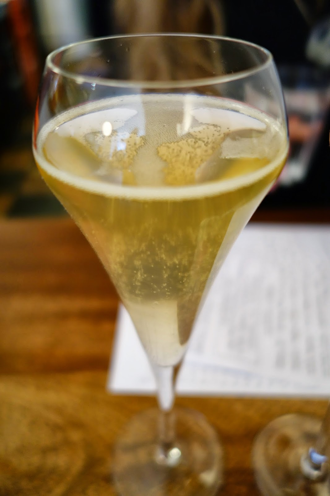 Champagne at Ducksoup