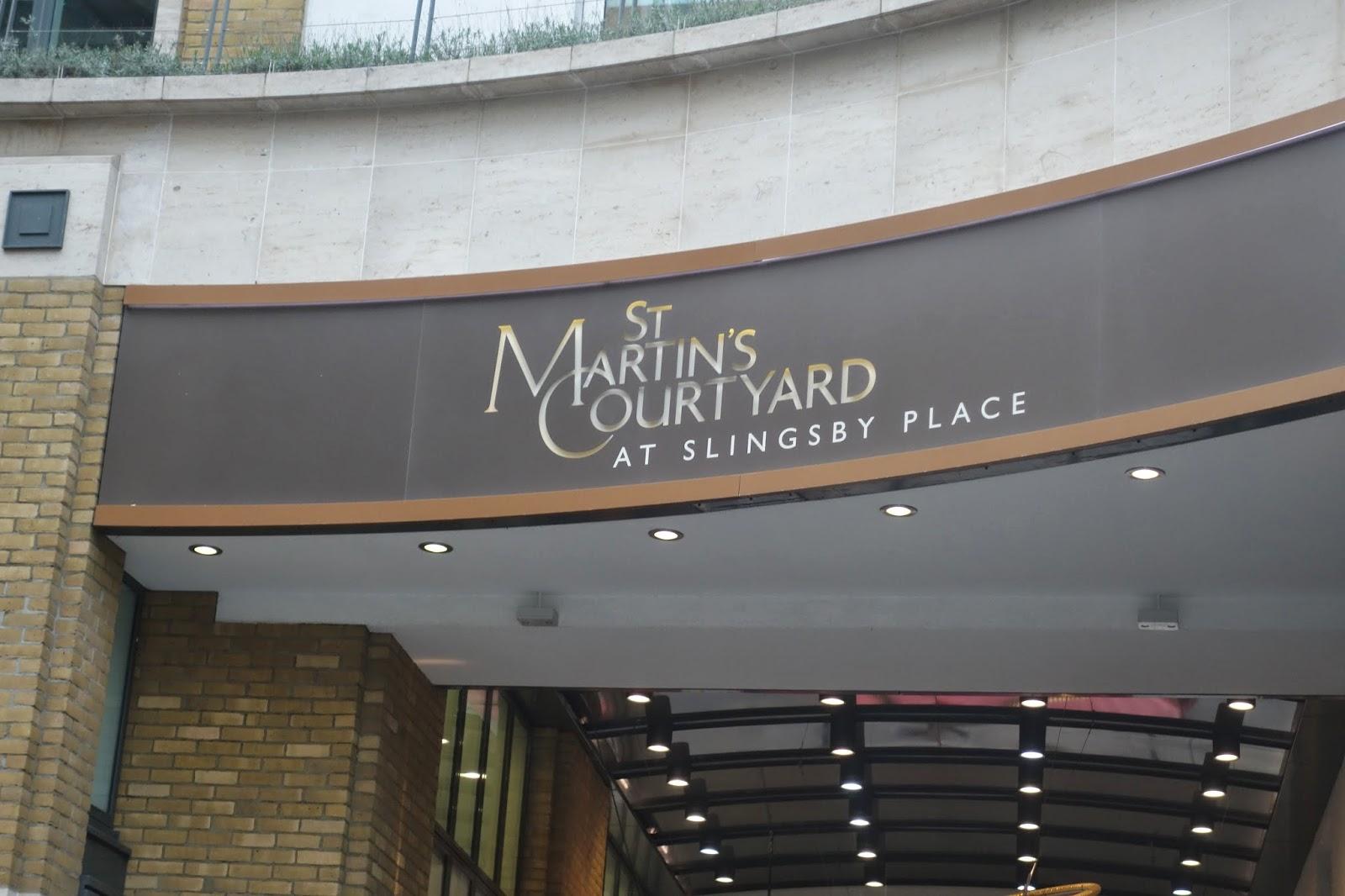 St Martin's Courtyard