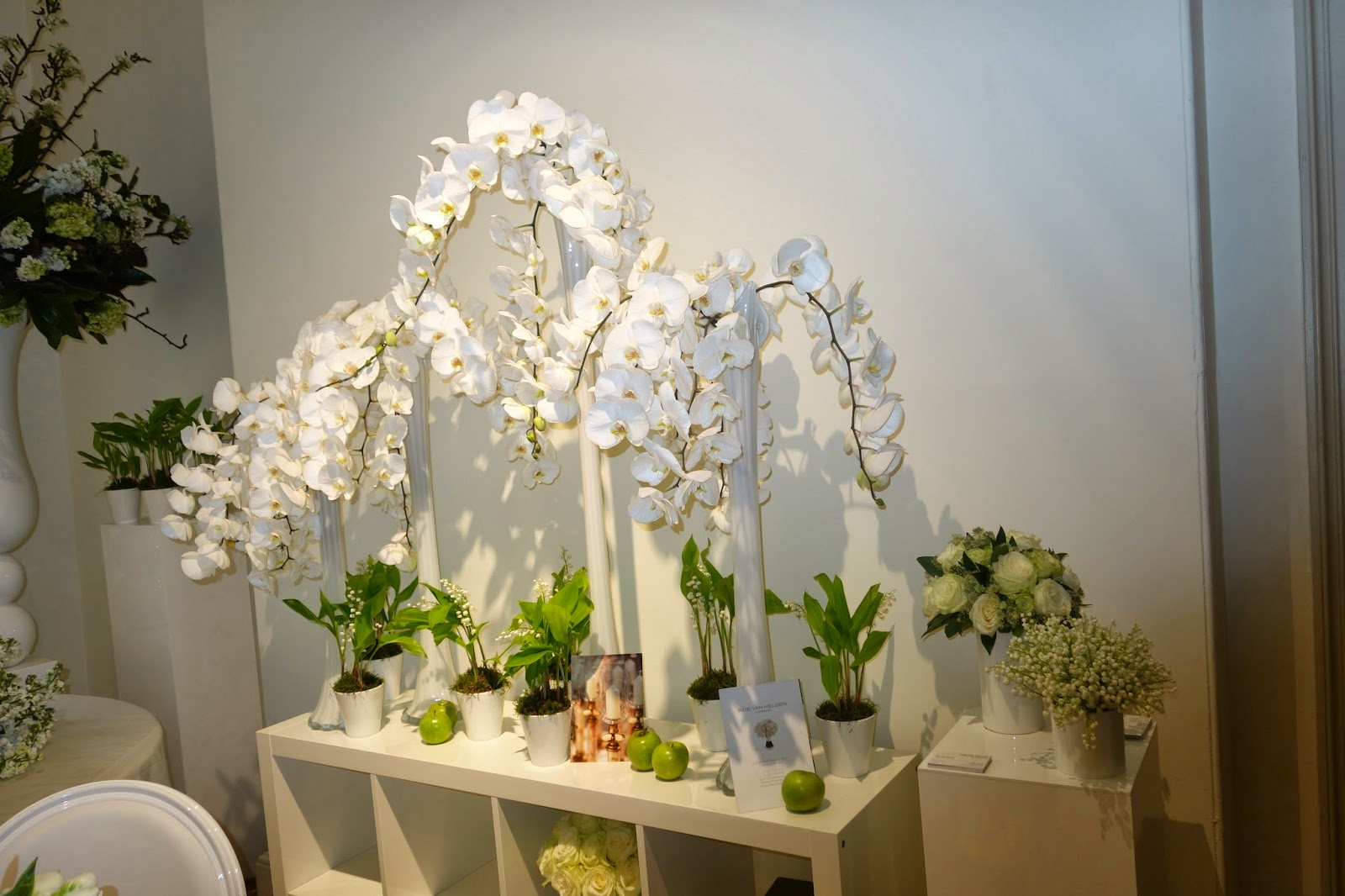 Rob Van Helden Flowers at Quintessentially Atelier