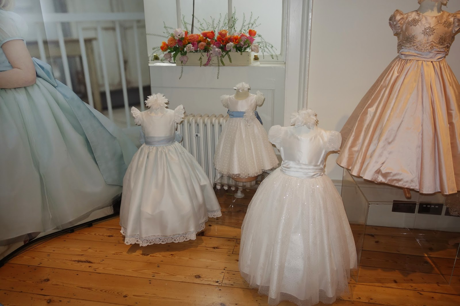 Nicki Macfarlane flower girls dresses at Quintessentially Atelier