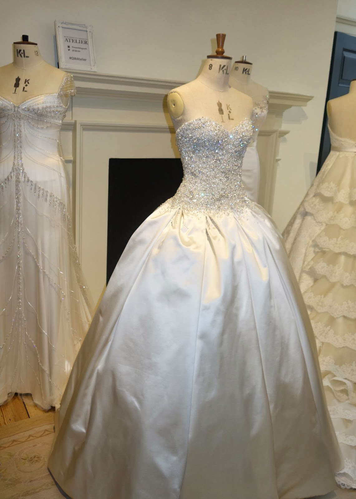 Phillipa Lepley wedding dresses at Quintessentially Atelier