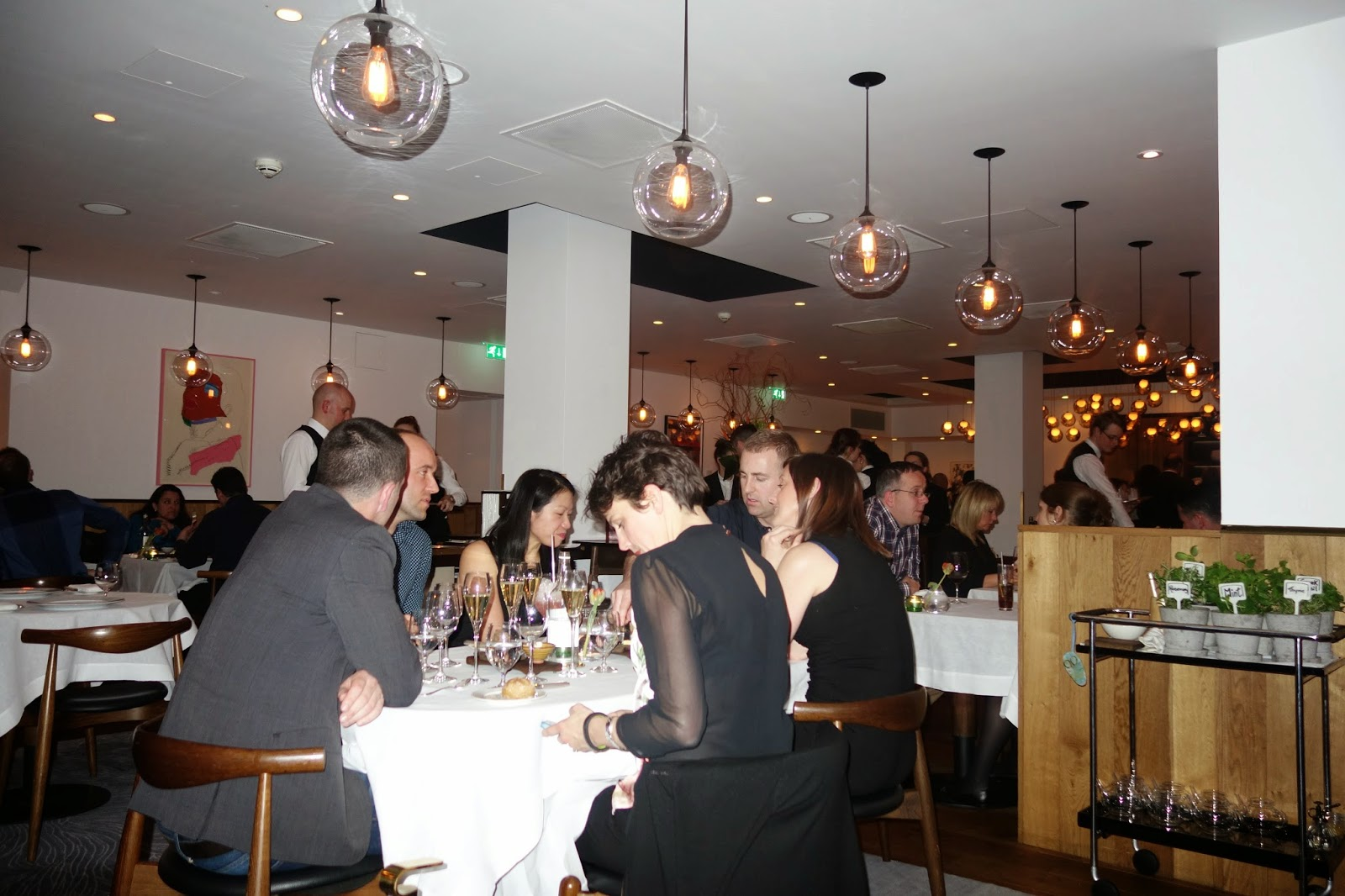 review of Pollen Street Social