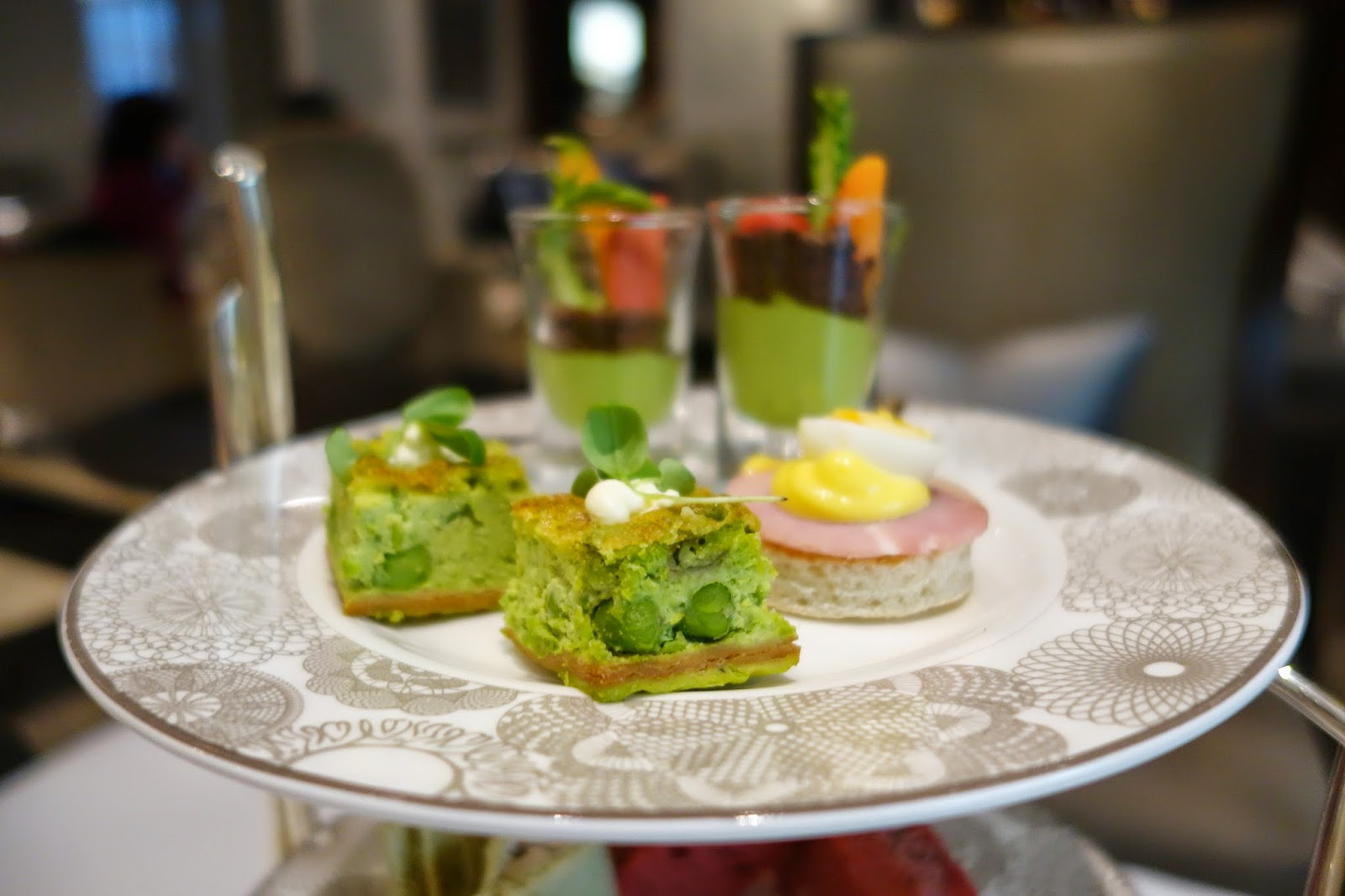'Edible Garden' Afternoon Tea at the Intercontinental Westminster