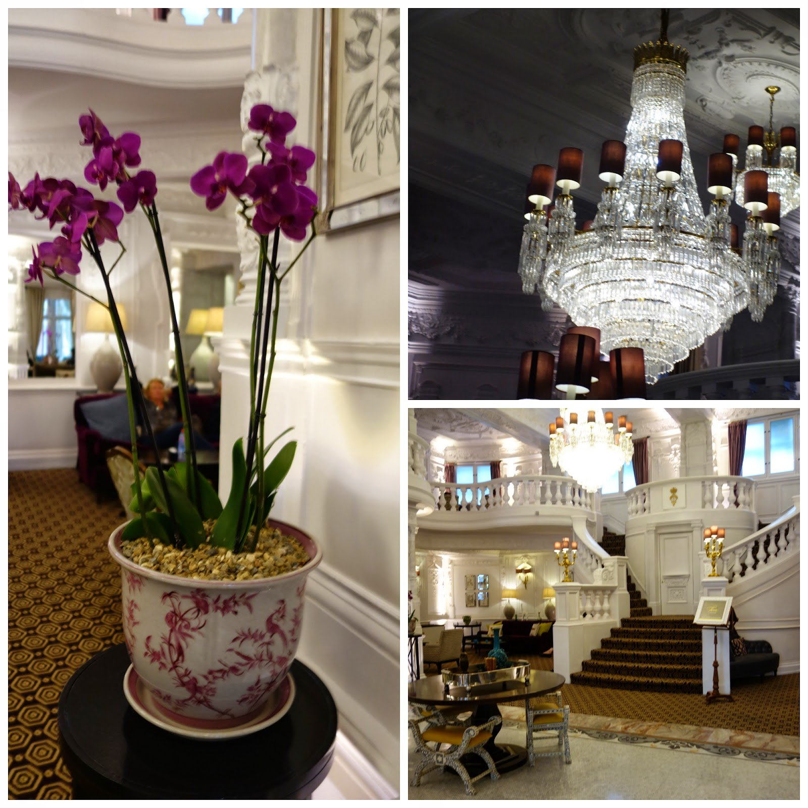 Afternoon tea at the St Ermin's Hotel