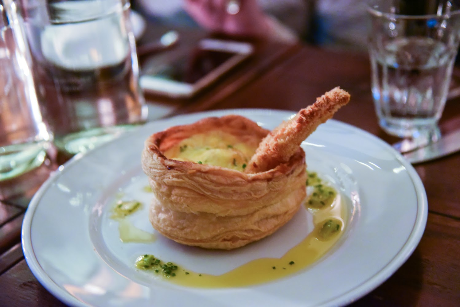 Lobster thermidor tart at Holborn Dining Room London's Poshest Dishes