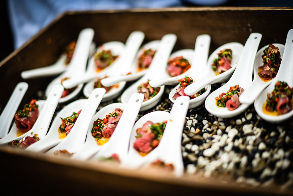 Canapes at The Magazine