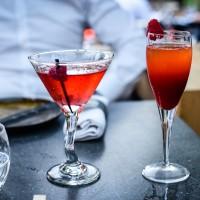 Cocktails at Baoli restaurant