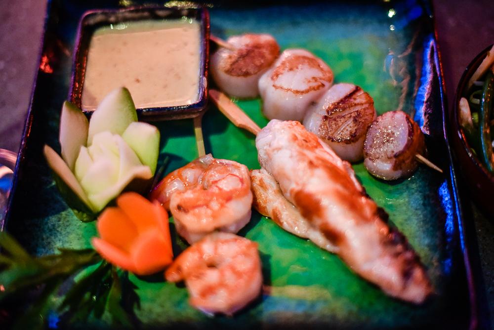 Seafood platter Baoli