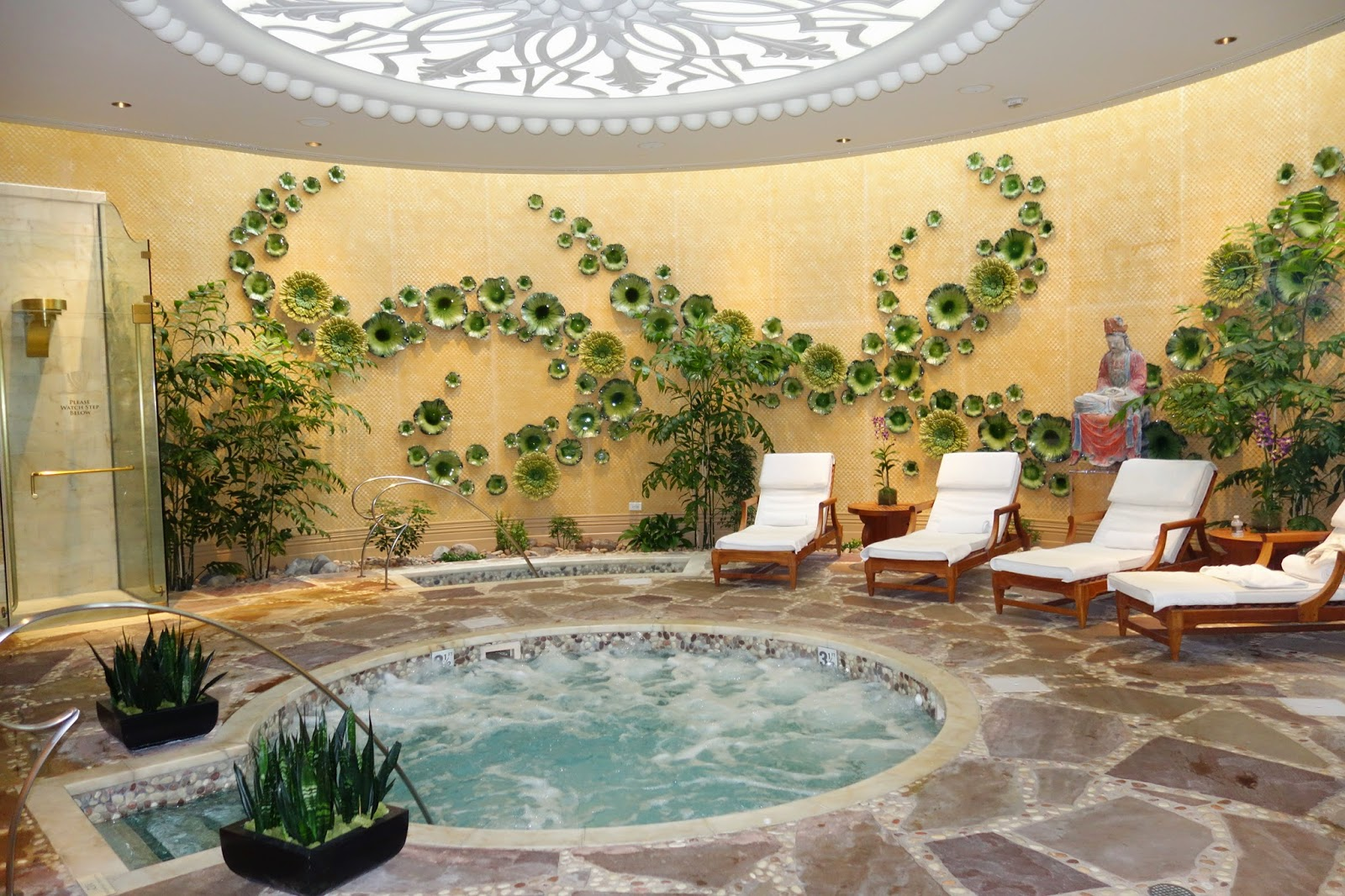 Spa at the Encore hotel