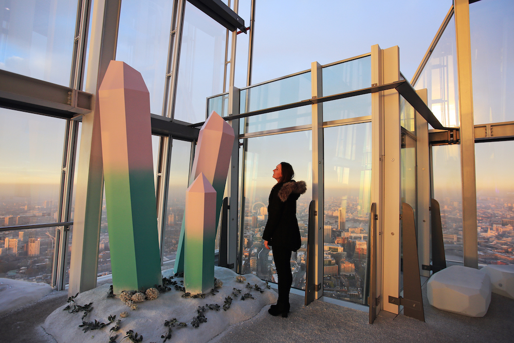 Opening today (23rd November) The Height of Winter immersive experience created by Bompas & Parr at The Shard Viewing Gallery, 800ft above London. For more information contact Stacey Wright - Stacey.Wright@theviewfromtheshard.com  or 07741 262025