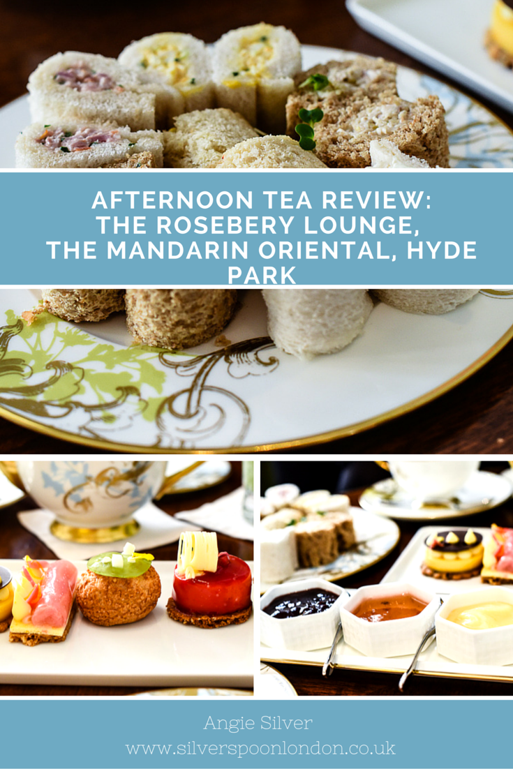 The Rosebery Lounge at the Mandarin Oriental is the perfect place for the quintessential London afternoon tea