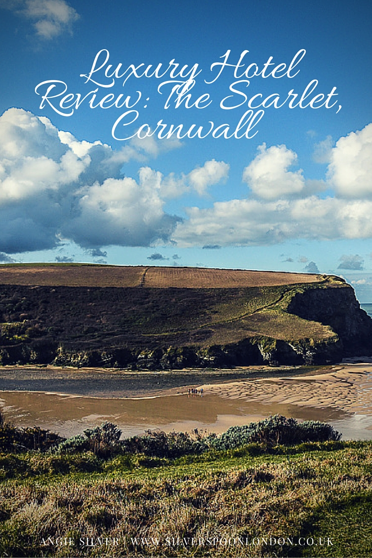A review of the Scarlet Hotel, a beautiful eco-friendly and adults-only hotel in Cornwall
