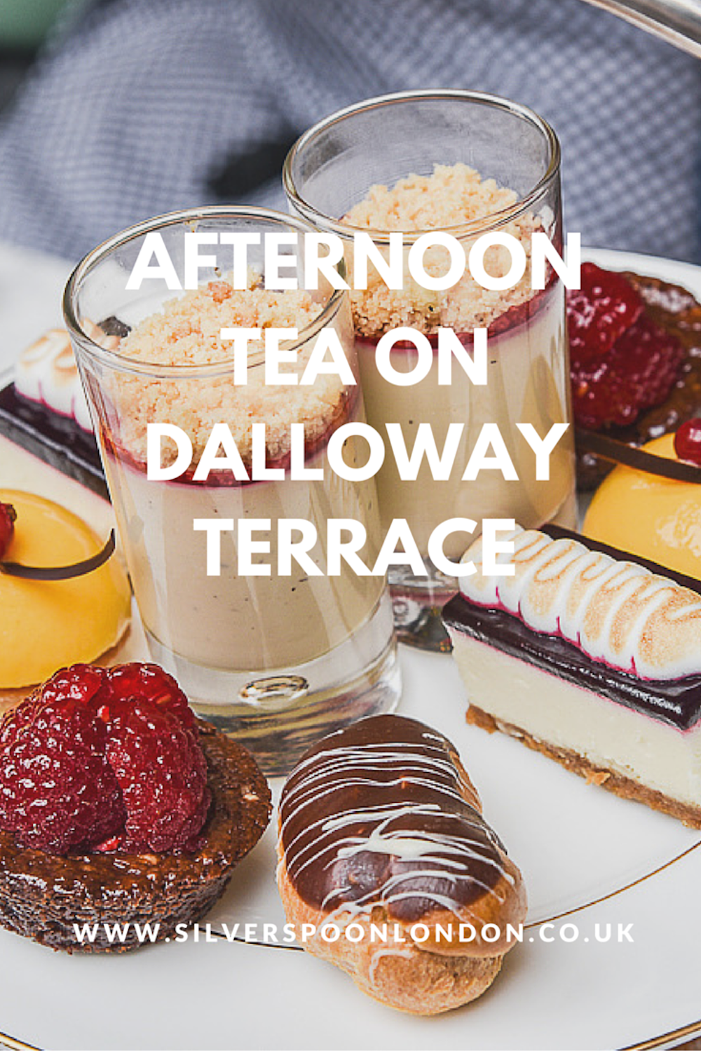 Afternoon Tea on Dalloway Terrace