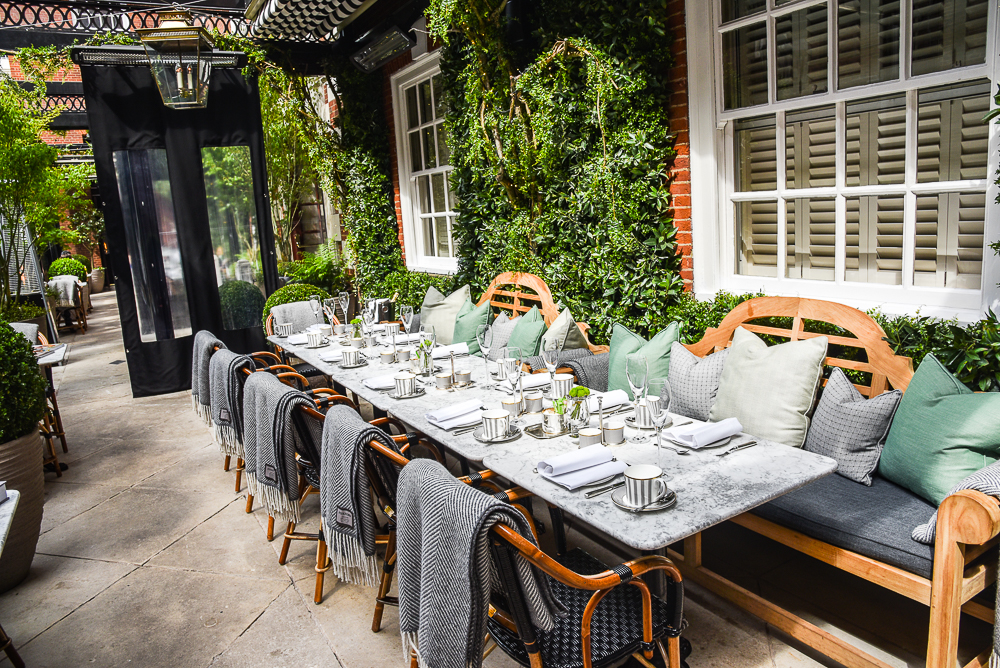Eight luxurious things to do in london this summer for Bloomsbury hotel terrace