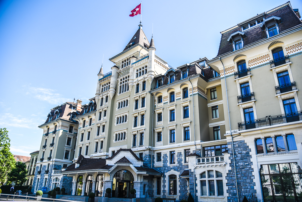 Luxury Hotel Review: Hotel Royal Savoy Lausanne
