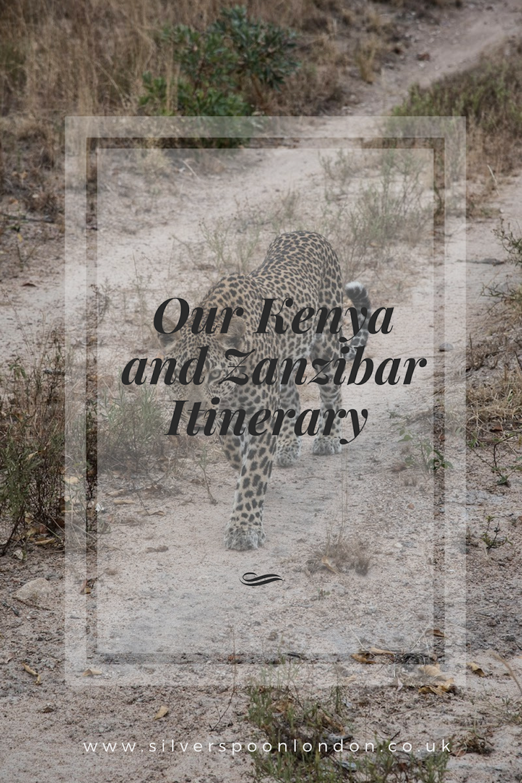 Kenya and Zanzibar Itinerary
