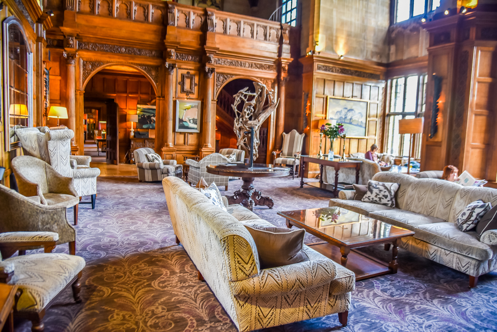 being a lover of the finer things in life beautiful hotels and five star service we wanted to take him on the ultimate adventure and stay in a castle - Multi Castle Interior