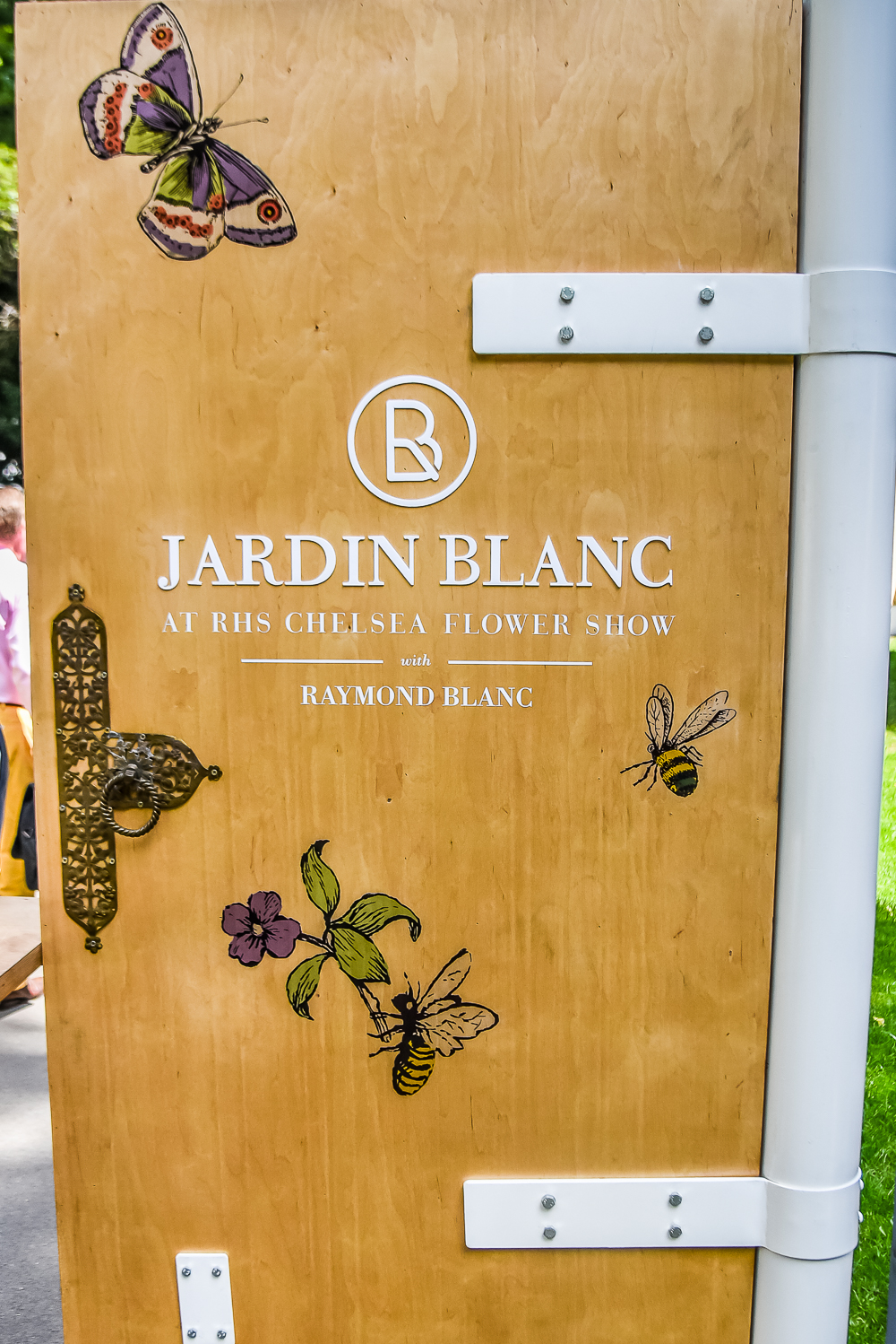 Chelsea flower show 2017 corporate entertainment packages - On This Sweltering May Day We Were Lucky Enough To Be Starting Our Day One Of The Show S Hospitality Tents Catered By The Man Himself Raymond Blanc