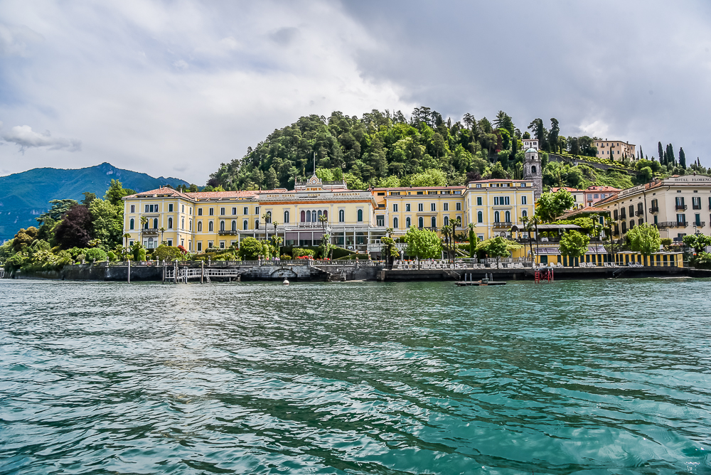 how to get to lake como from london