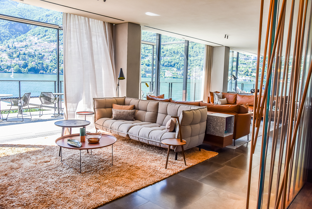 Il sereno a contemporary jewel in lake como silverspoon for Design hotel jewel