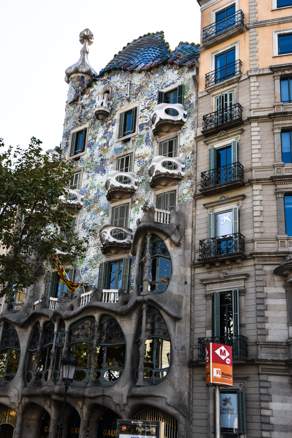 Casa Batlló Lies Slightly Down The Road Also On Passeig De Gràcia U2013 Forget The  Fairytale Houses, This One Looks Like Something Out Of The Nightmare Before  ...