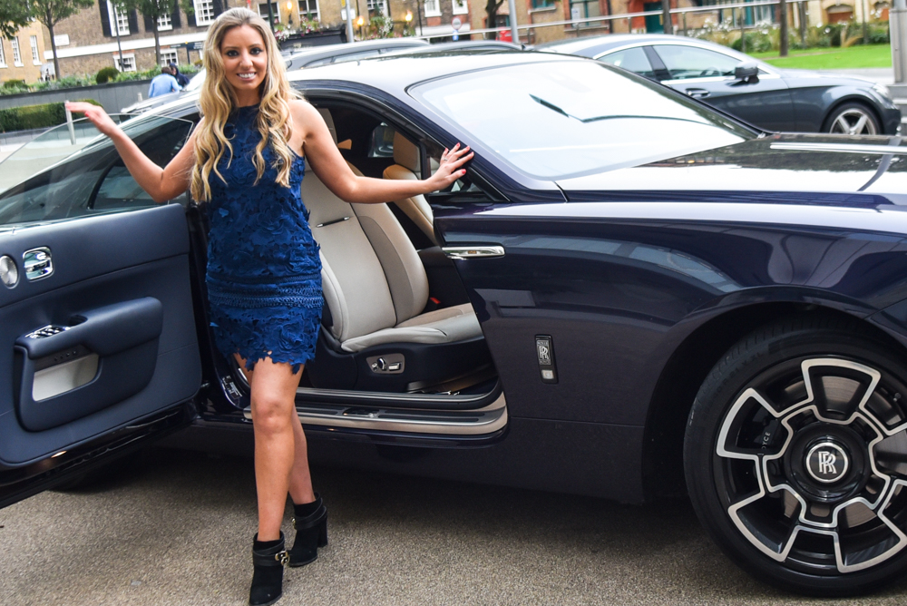 Driving A Rolls Royce Wraith To Soho Farmhouse