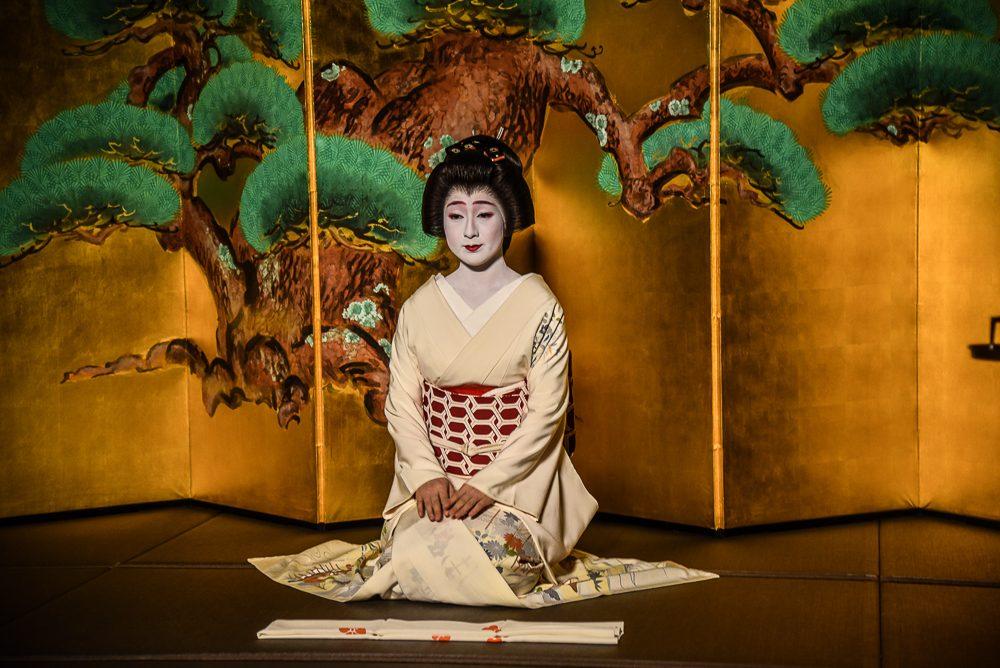 Meeting a Geisha in Kyoto